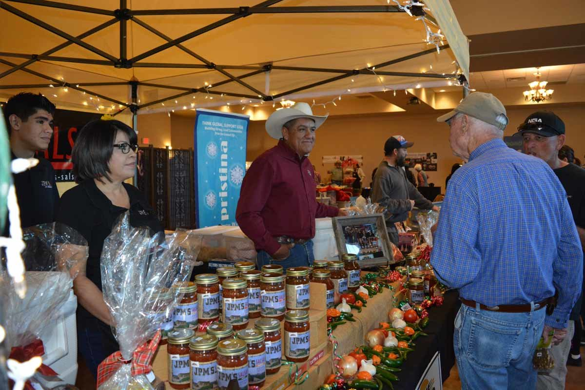 The New Mexico Farm & Ranch Heritage Museum holds a HomeGrown event every year honoring and making available New Mexico products in time for holiday shopping.