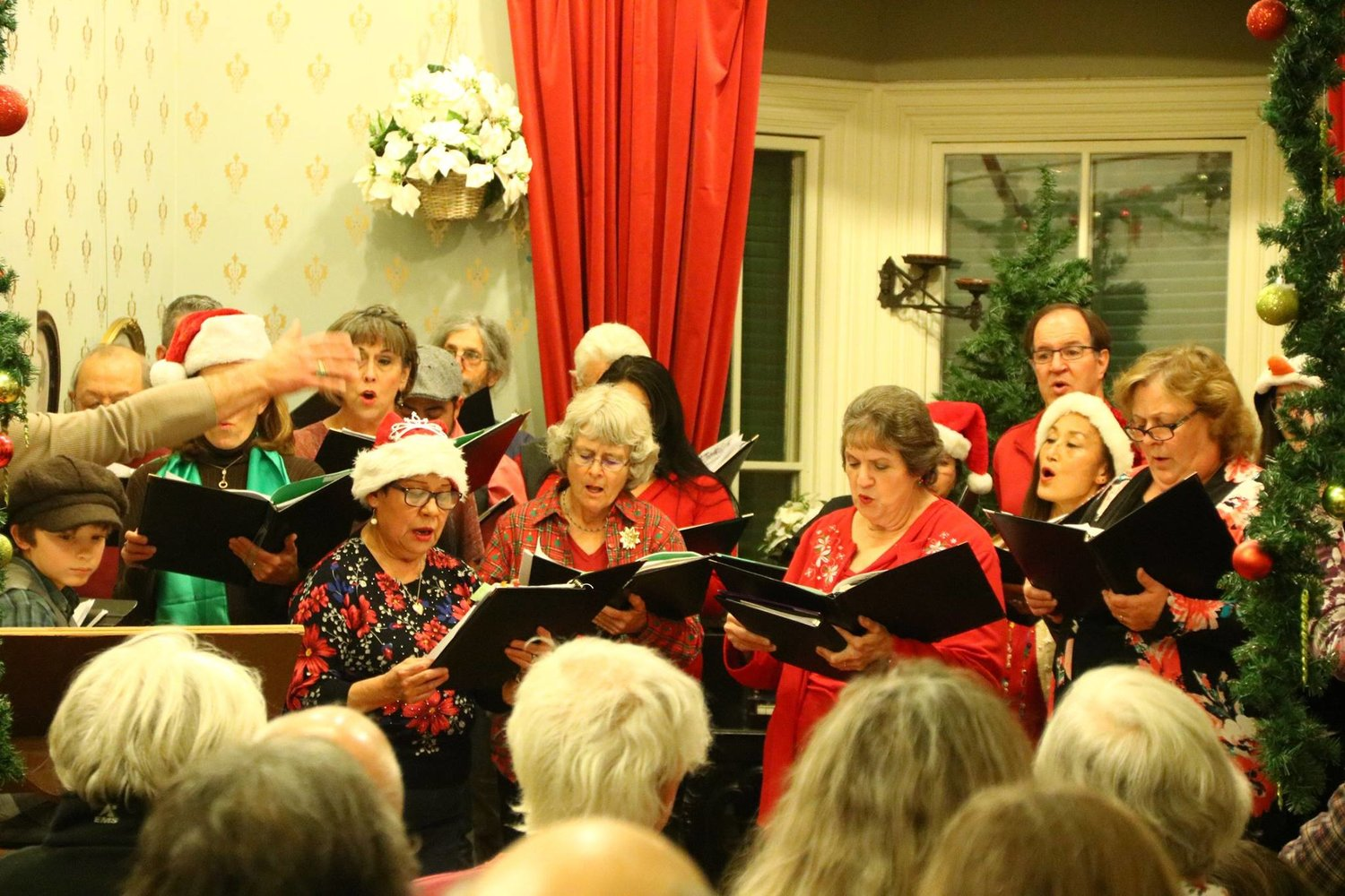 Caroling is just one of the entertainments st the Victorian Christmas hosted by the Silver City Museum on Dec. 12.