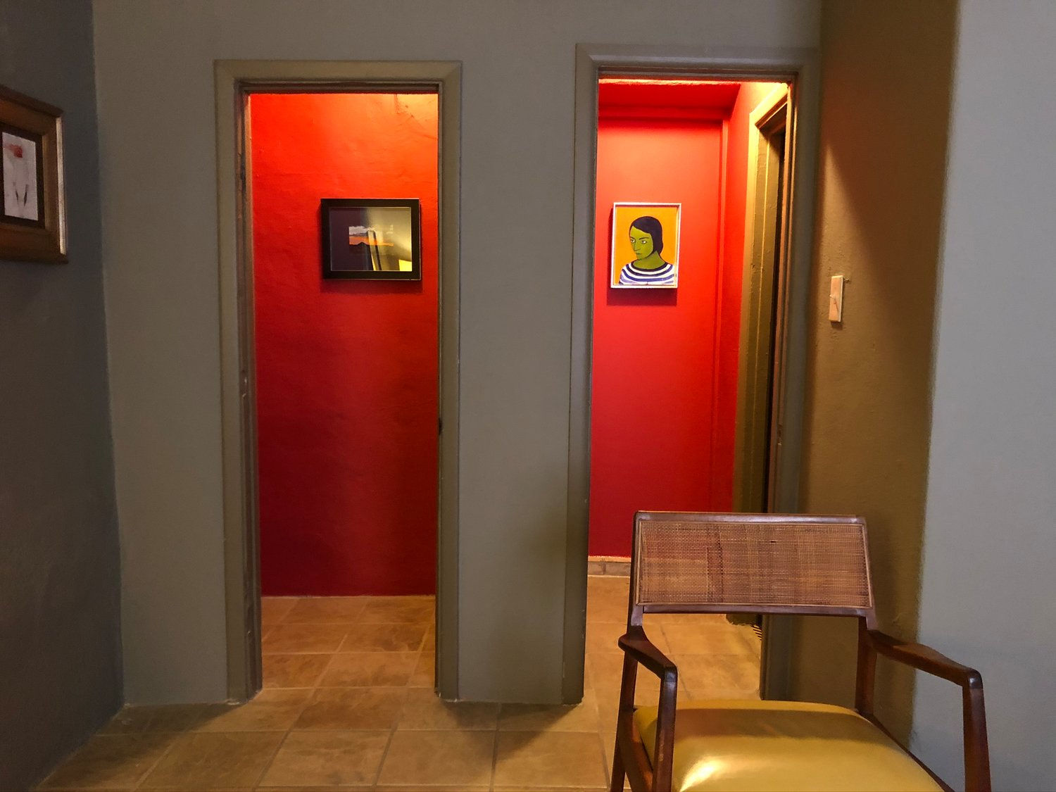 Mandrake Fine Art & Botanica Gallery is a work of art itself with its designed nooks and quiet walls.