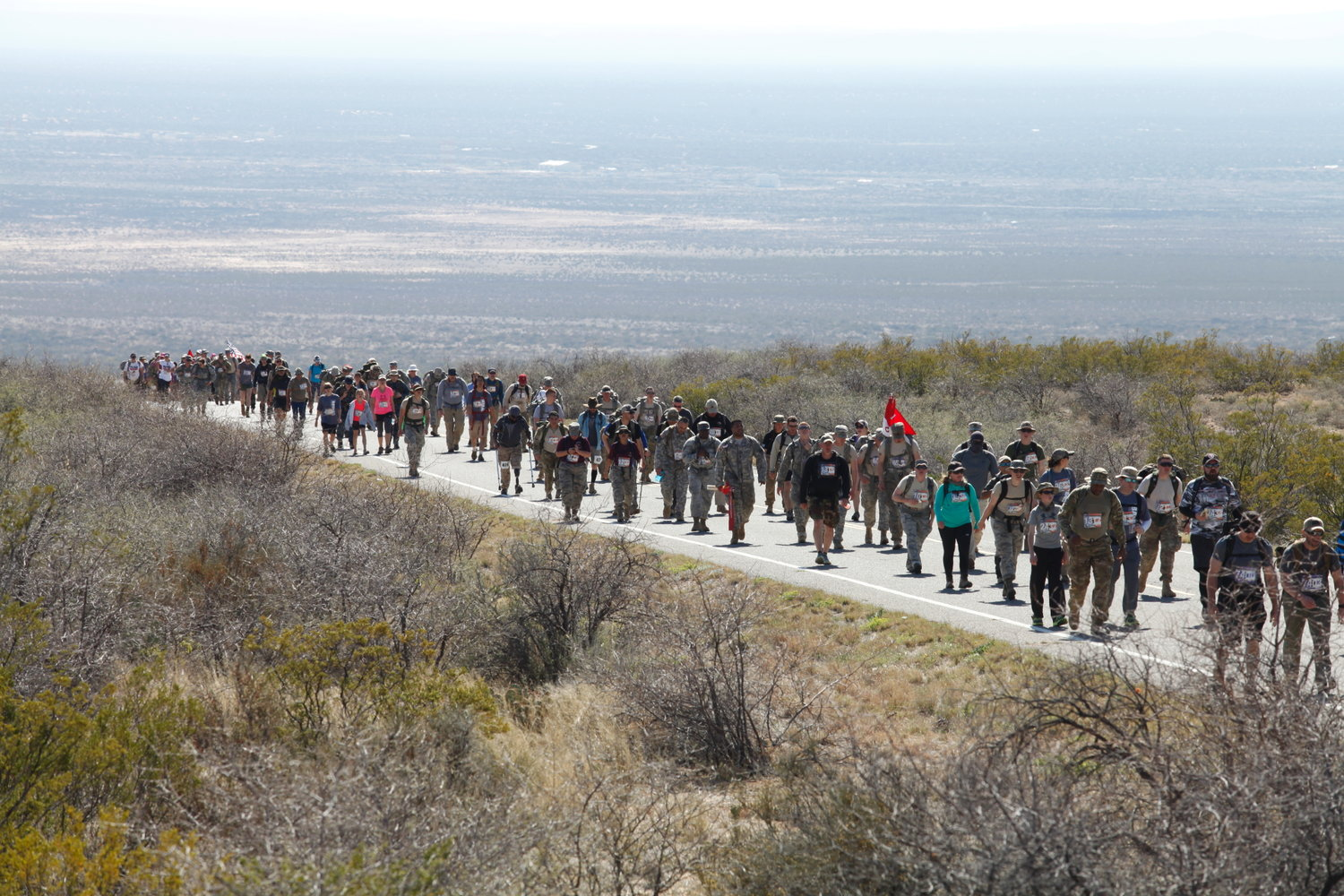 The Bataan Memorial Death March at White Sands Missile Range planned for this weekend has been canceled.