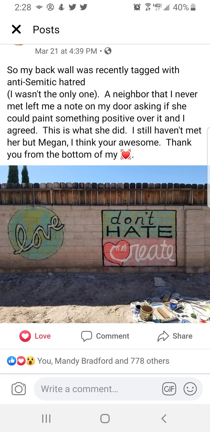 Art With Heart Facebook post