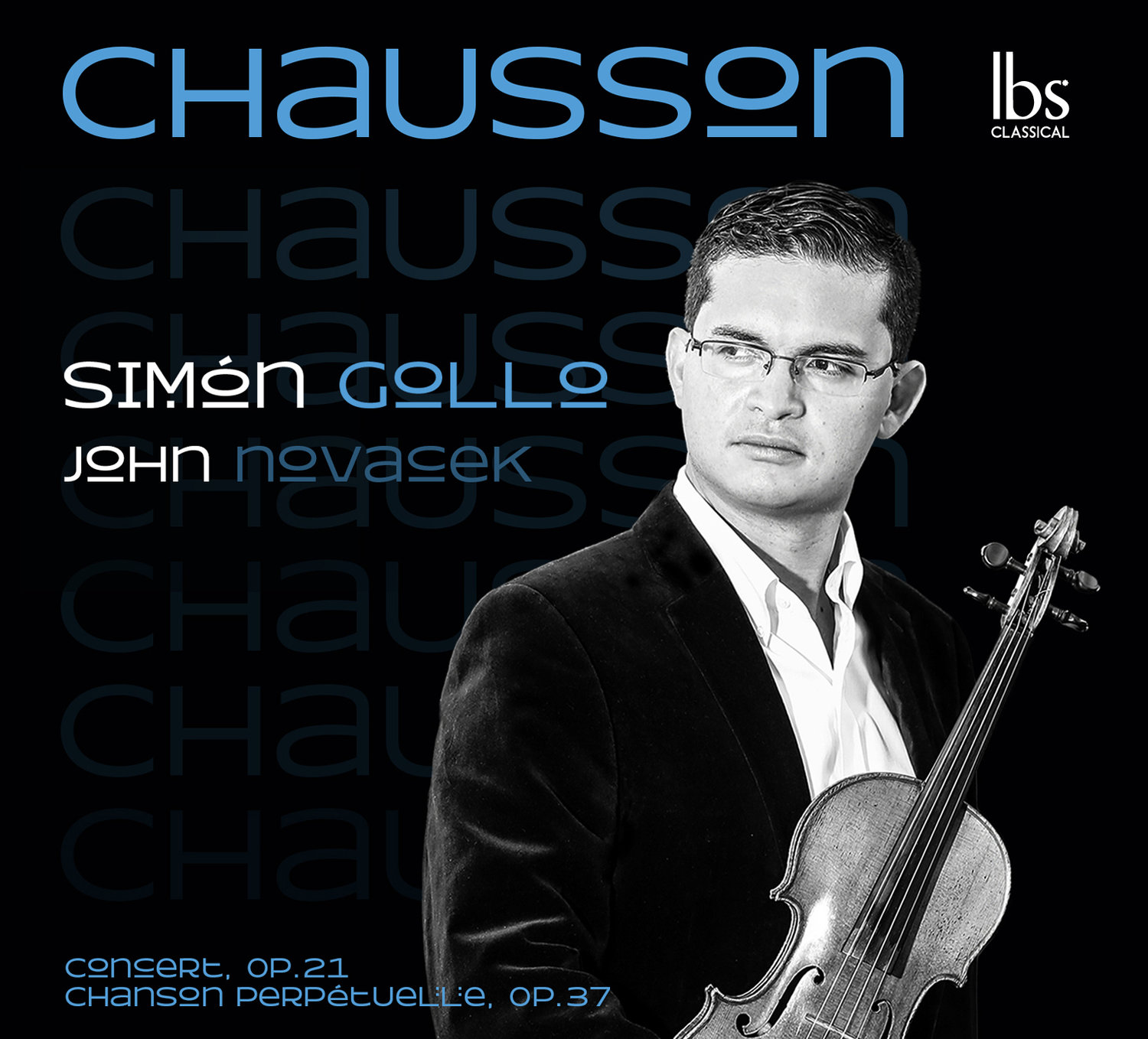 "Simon Gollo's ""Chausson"" album front cover"