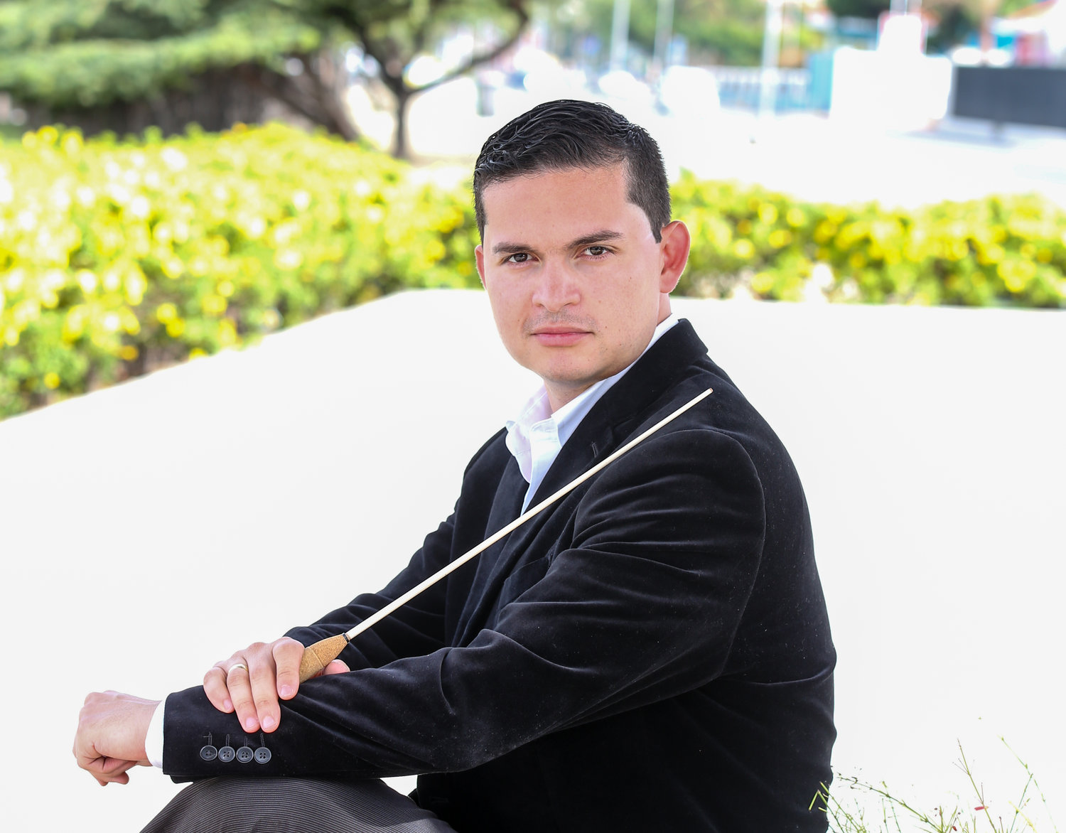 Conductor, musician, composer Simon Gollo of Las Cruces
