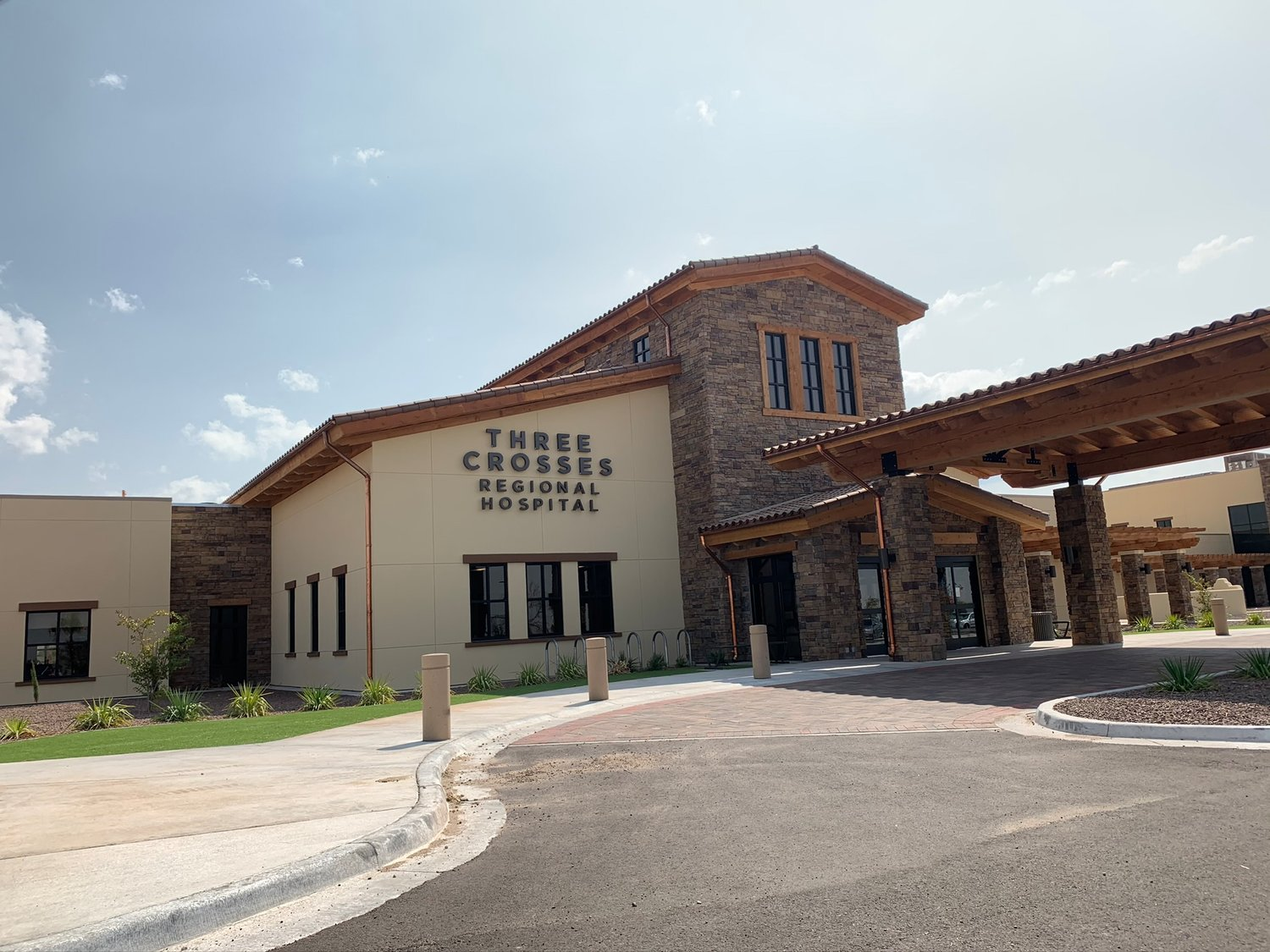 Las Cruces's most recent acute care hospital Three Crosses Regional, is set to begin taking patients on Oct. 8.