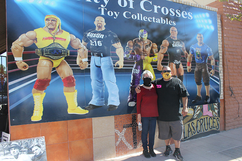 Emma Galvan and her son, Kenny Chavez, have opened City of the Crosses Toys & Collectibles at 307 S. Main St. in Las Cruces. The store specializes in toys and collectible sports memorabilia, including wrestling, basketball, football and more.