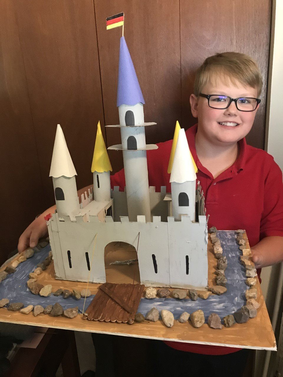Tanner Wileford, a fifth grader at Fairacres Elementary, made this German castle as part of his study of other countries and cultures.