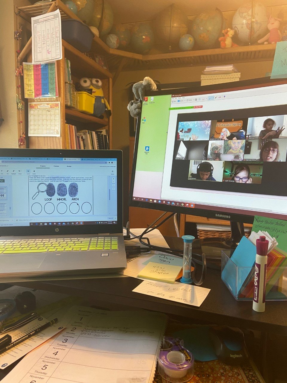 Some of teacher Barb Ericson's tools to help facilitate more productive class time via Zoom.