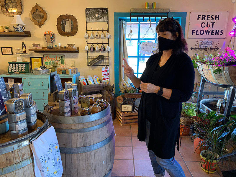 Old Barrel Tea & Spice Company employee Crystal Franklin talks about the international flavors in the store.