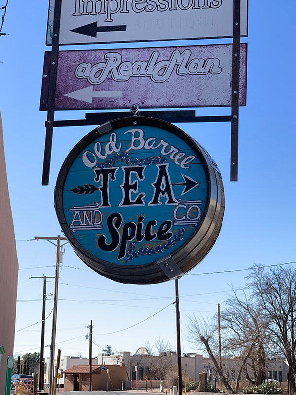 Old Barrel Tea & Spice Company is at 2290 Calle de Parian in Mesilla.