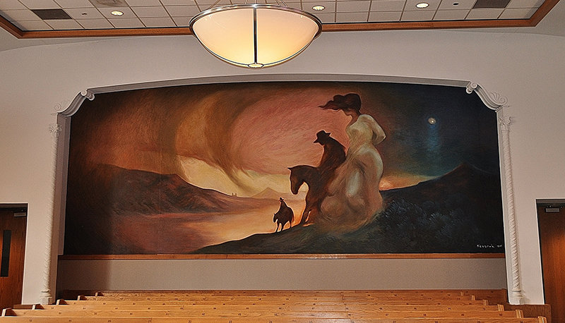 "Court House mural, ""Doña Ana on the Camino Real"""