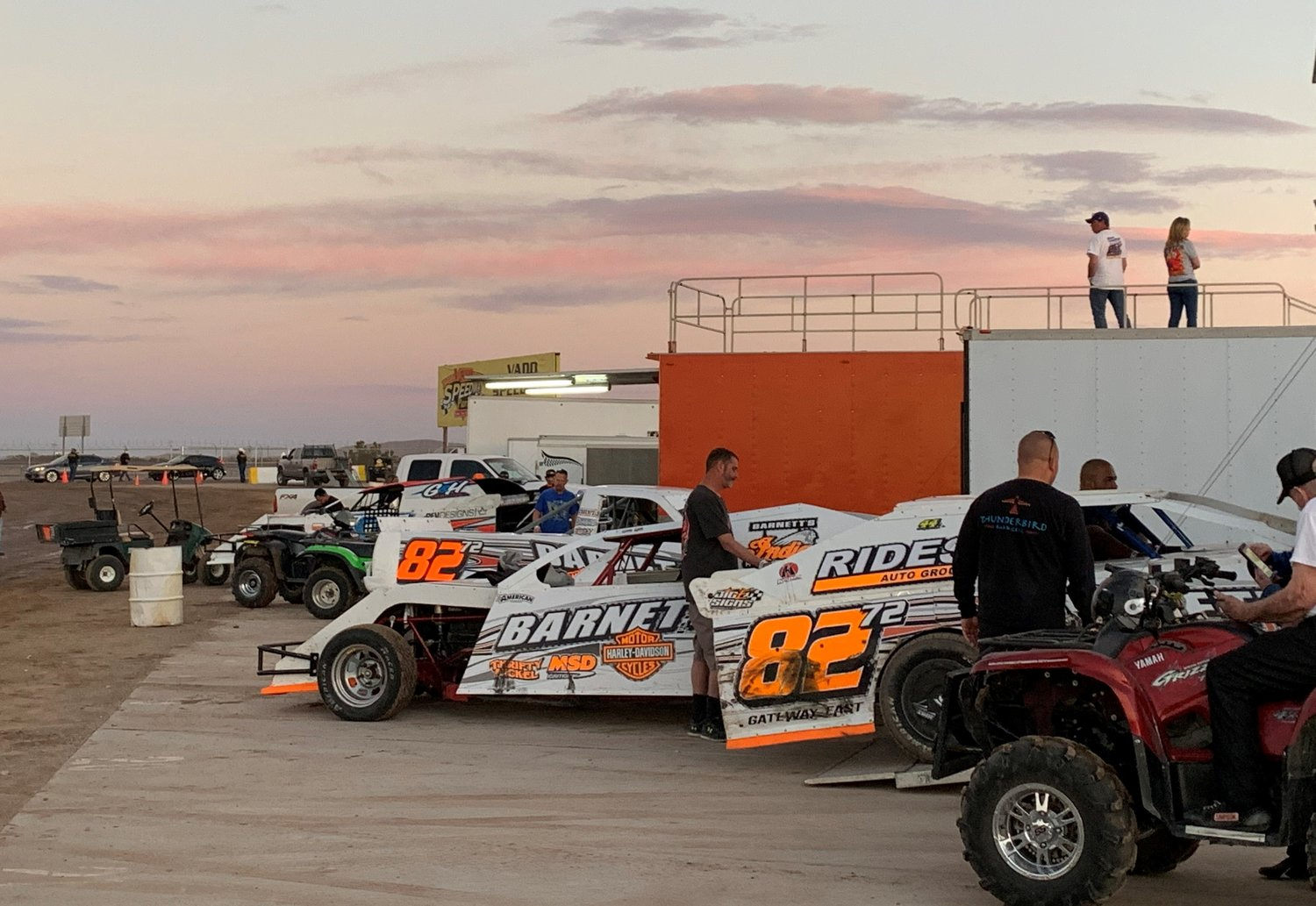 After 14 months of waiting, race car drivers and their teams were able to get their vehicles moving Saturday, March 20, as Vado Speedway Park opened its gates at 25 percent capacity. As long as Doña Ana County remains at the yellow level or better, there will be racing every weekend through the end of November.