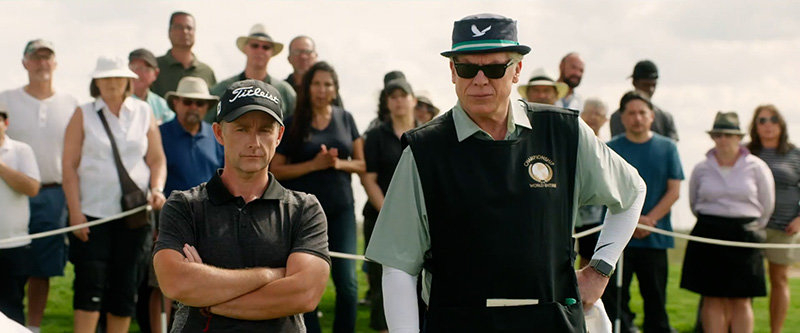 Billy Boyd (Archie Borthwick) and Christopher McDonald (Wiley)