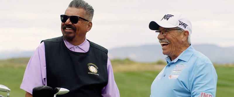 "George Lopez and Edward James Olmos star in ""Walking With