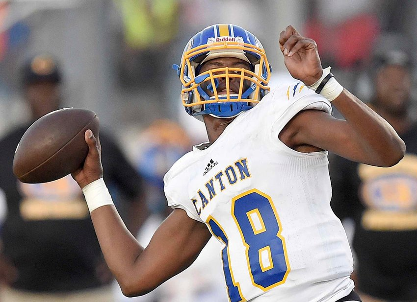 Canton quarterback Jacobian Morgan and the Tiger offense face an improved Ridgeland defense in the Region 2-5A opener Friday night.