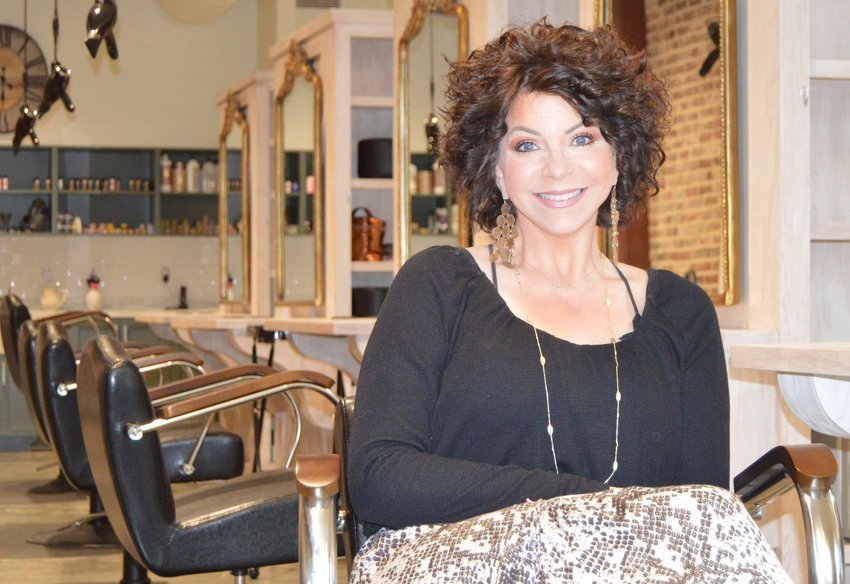Kelly Rainer opened the French Doll Salon in Madison in January with her daughters, Kassy Hawks and Sarah Lavender.
