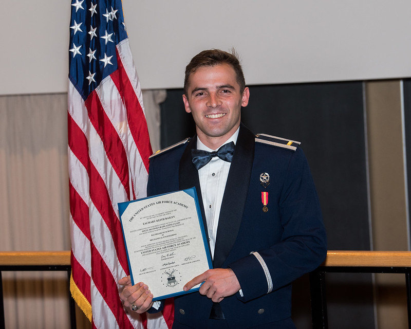 Zachary Bailey, the 2016 valedictorian of Madison Central High School, recently graduated at the top of his class at the Air Force Academy.