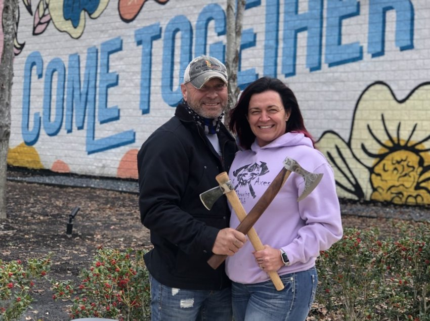 Keith and Kathy Black are excited to open their third Black Ax location in Ridgeland.