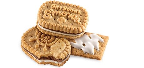 Back on the menu this year are the popular S'mores cookies.