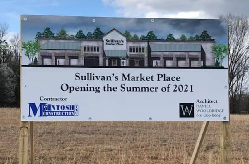 Construction on 35,000-square-foot Sullivan's Marketplace will begin here soon with a planned fall opening now.