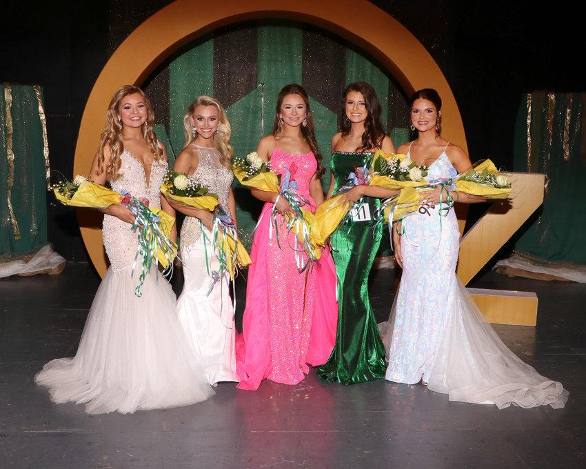High School Beauties - Payton Fisher, Alissa Burgess, Taylor Riddell, Mary Ella Brooks, and Resa Carter