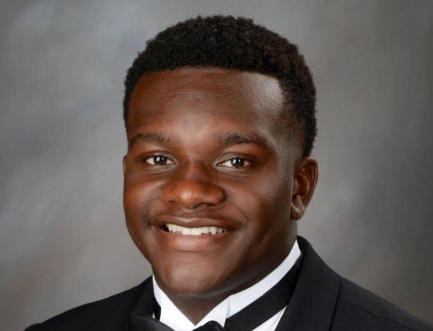 Josh Briscoe, a St. Joseph Catholic School senior and broadcast journalism student.