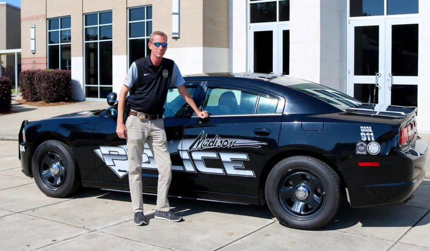 Corey Evan Ray had a 22-year career in law enforcement and most recently served as the School Resource Officer at Madison Central High School.