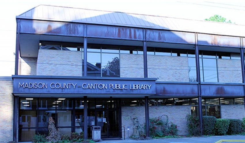 Madison County Library in Canton