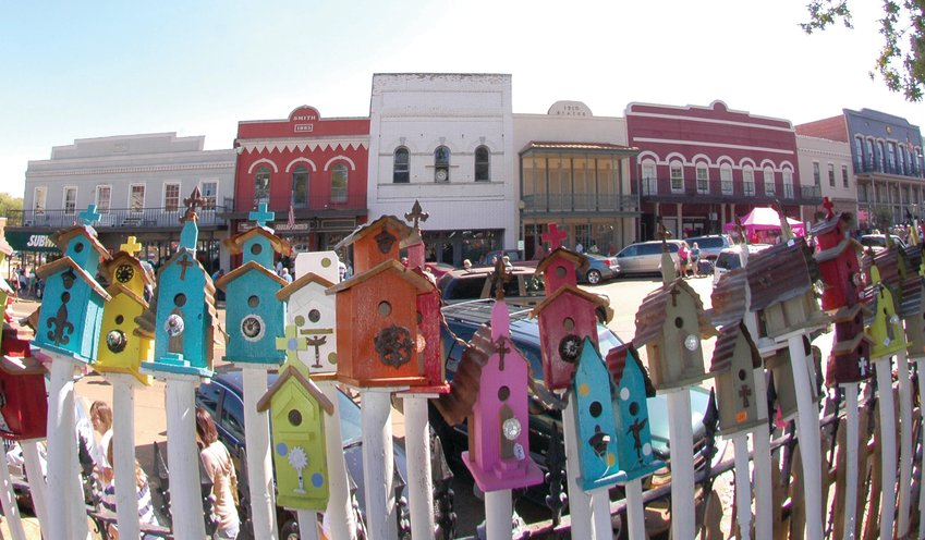 The Canton Flea Market will be from  7 a.m. until 4 p.m. Thursday on the courthouse grounds on the Canton Square.