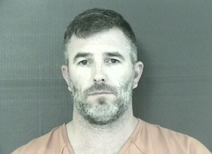 Casey Jonathon Bridges, 38, was arrested and charged with simple assault.