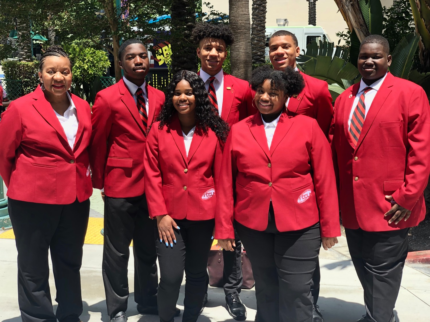 cutline: FCCLA National Conference Attendees