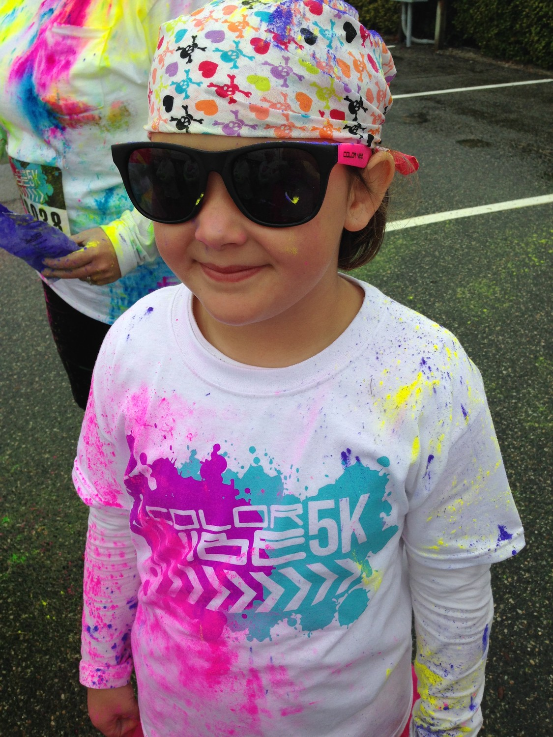 Anna Lewis anna lewis burke at color run | manning live
