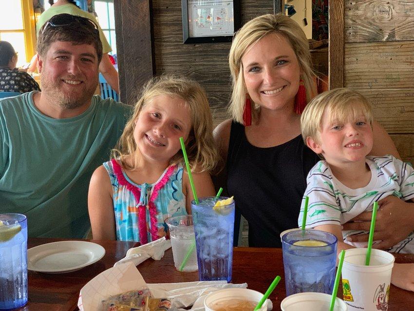 Allen, Peyton, Shannon and Luke Howell