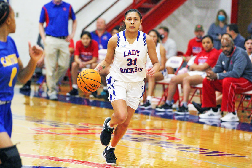 Neshoba Central plays today at 4 p.m. vs. Laurel. The winner will play the winner of Brookhaven-Holmes County on Friday at 4 p.m. Shay Hunter (31) drives the ball up the court for Neshoba Central in a file photo.