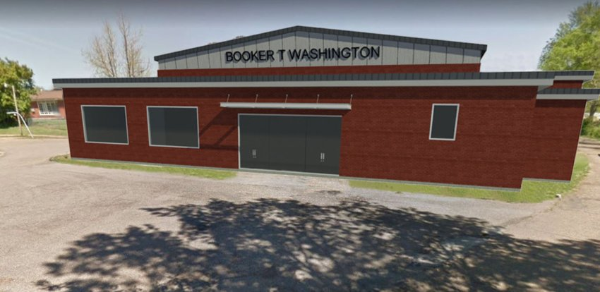 The Booker T work will create an entrance on the west side of the building.