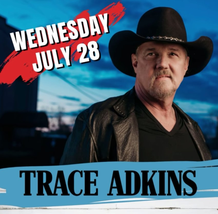 Trace Adkins, Wednesday, July 28