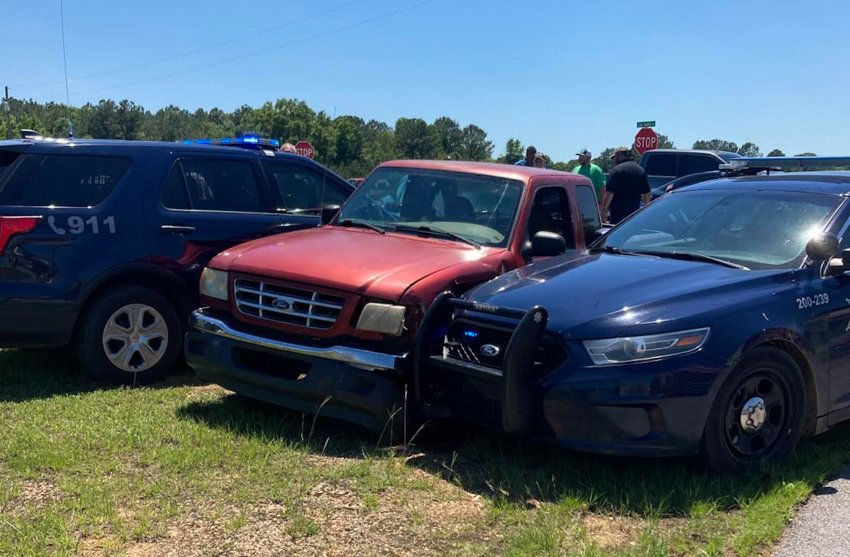 Neshoba County Sheriff Eric Clark said that the two men were arrested after a high-speed chase that ended in the Tractor Supply parking lot. Sheriff's deputies encountered a Red Ford Ranger pickup on Mississippi 16 west with multiple traffic infractions on Wednesday, June 16.