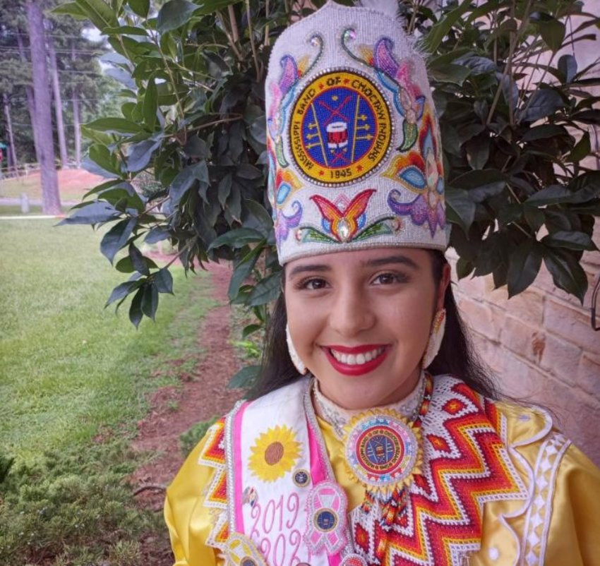 Elisah Monique Jimmie served the last two years as Choctaw Indian Princess.