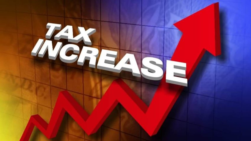 Raising taxes will make Philadelphia more competitive with other surrounding cities, Ward 1 Alderman Justin Clearman said Wednesday evening during a public hearing on a proposed tax hike.