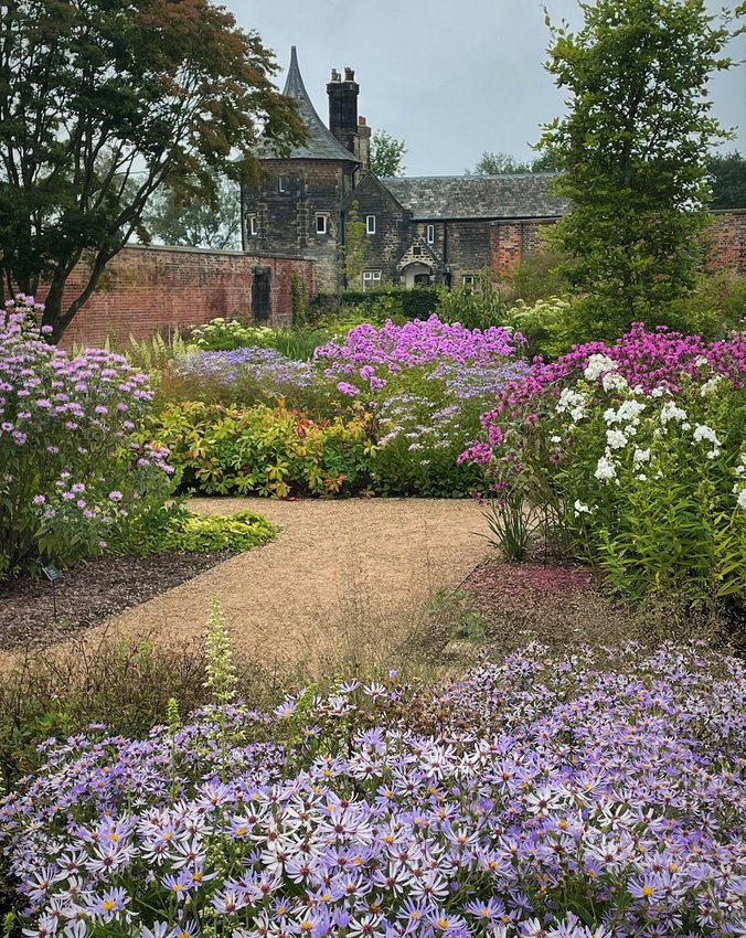 Every flower in this English garden is a Mississippi native.