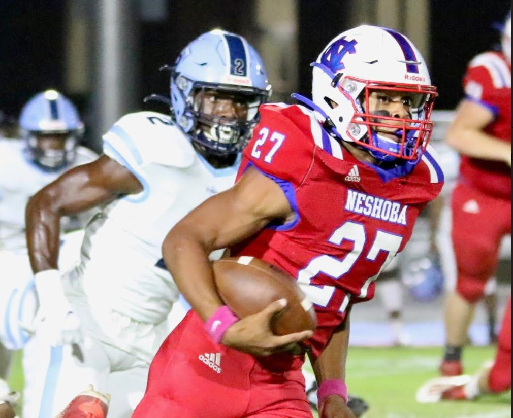 Neshoba Central's Jarquez Hunter has been named Mr. Football for Class 5A football.