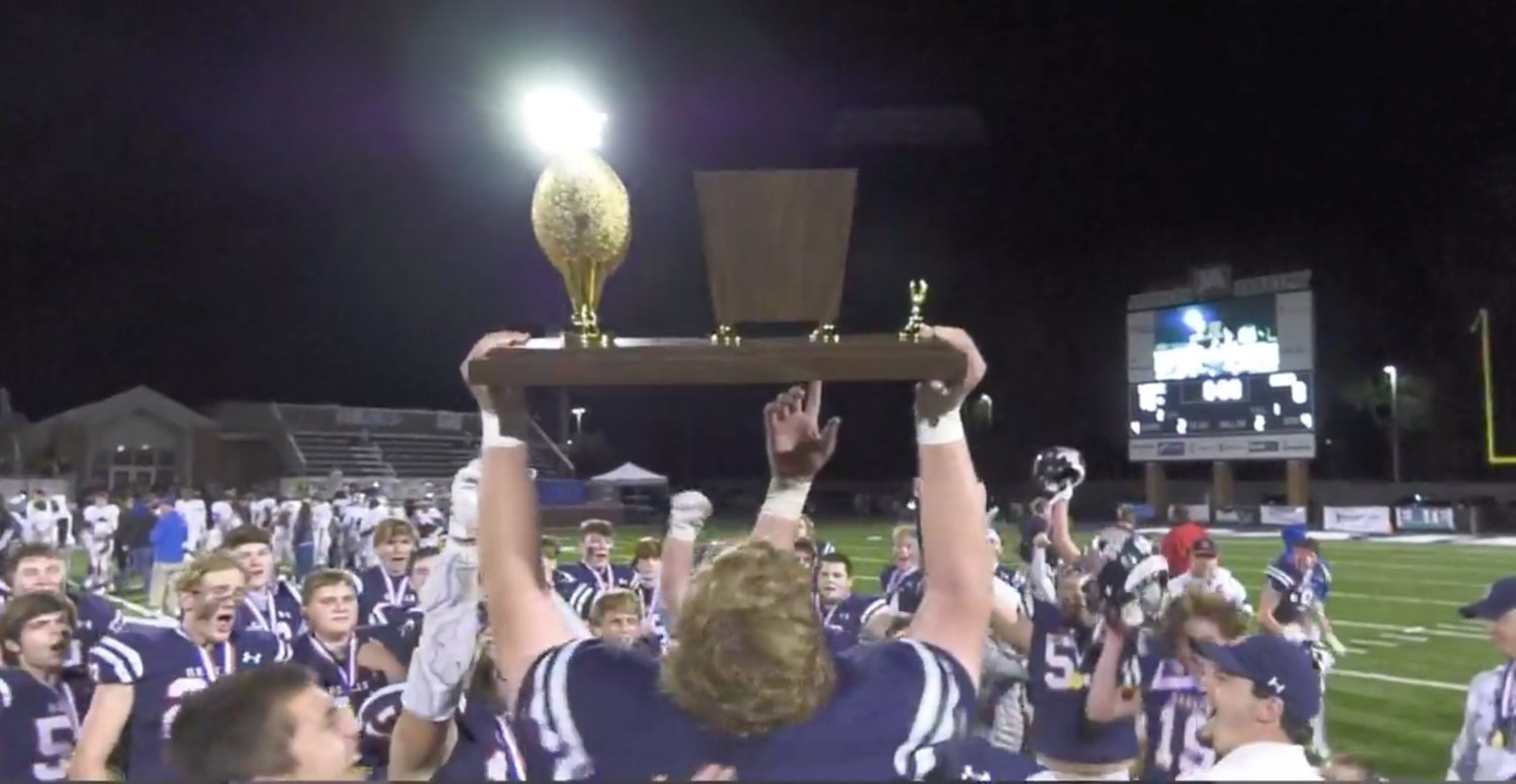 The Leake Academy Rebels captured their first state football championship as they defeated Adams County Christian School 10-0 in the MAIS Class 5A title game.