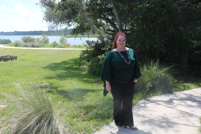 Ellen Leroy-Reed, executive director of the Friends of GTM Research Reserve, hosted a guided tour of the facility for the Recorder on Monday, Sept. 10.