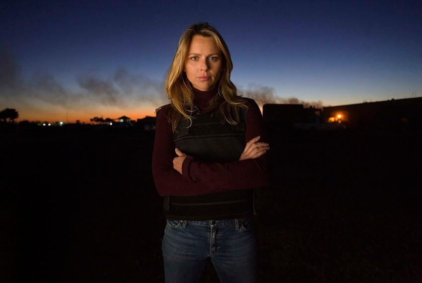 Journalist Lara Logan