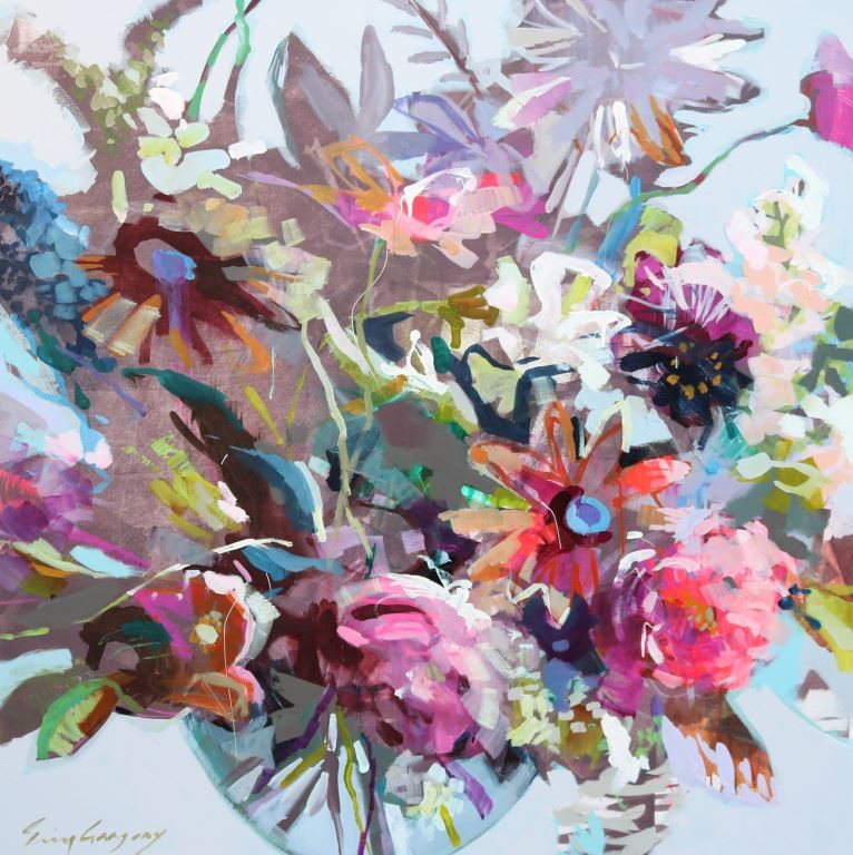 Artwork by Erin Gregory (flowers) and Shawn Meharg (ocean) will be on display at Stellers Gallery at Ponte Vedra Beach for the fall show. An opening reception will take place Friday, Oct. 5 from 6 to 9 p.m.