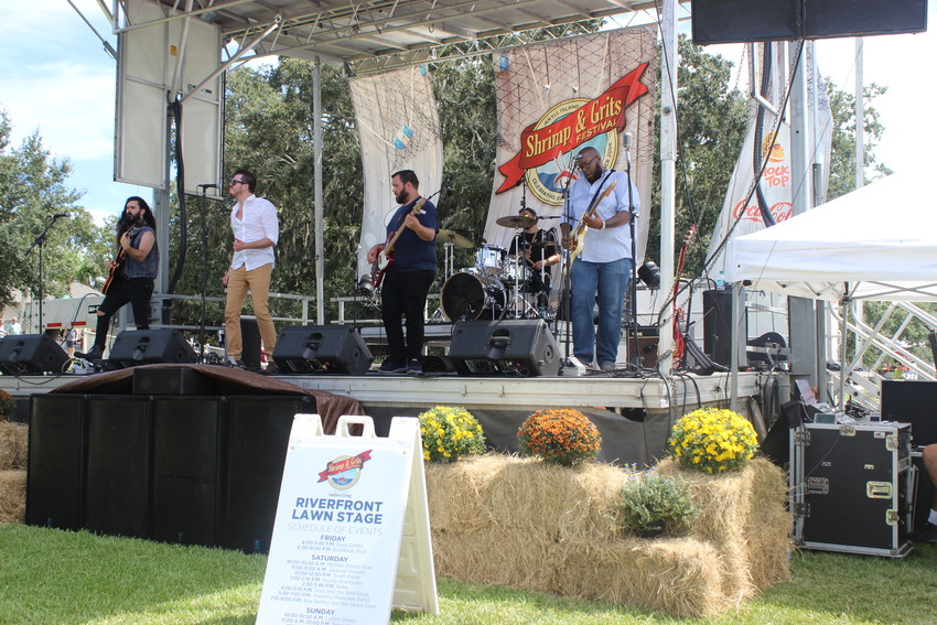 Several bands provided entertainment throughout the three-day event.