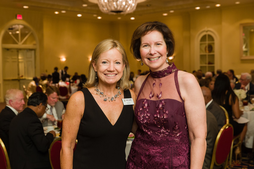 Incoming We Care Jacksonville Executive Director Susan King with retiring Executive Director                          Dr. Sue Nussbaum