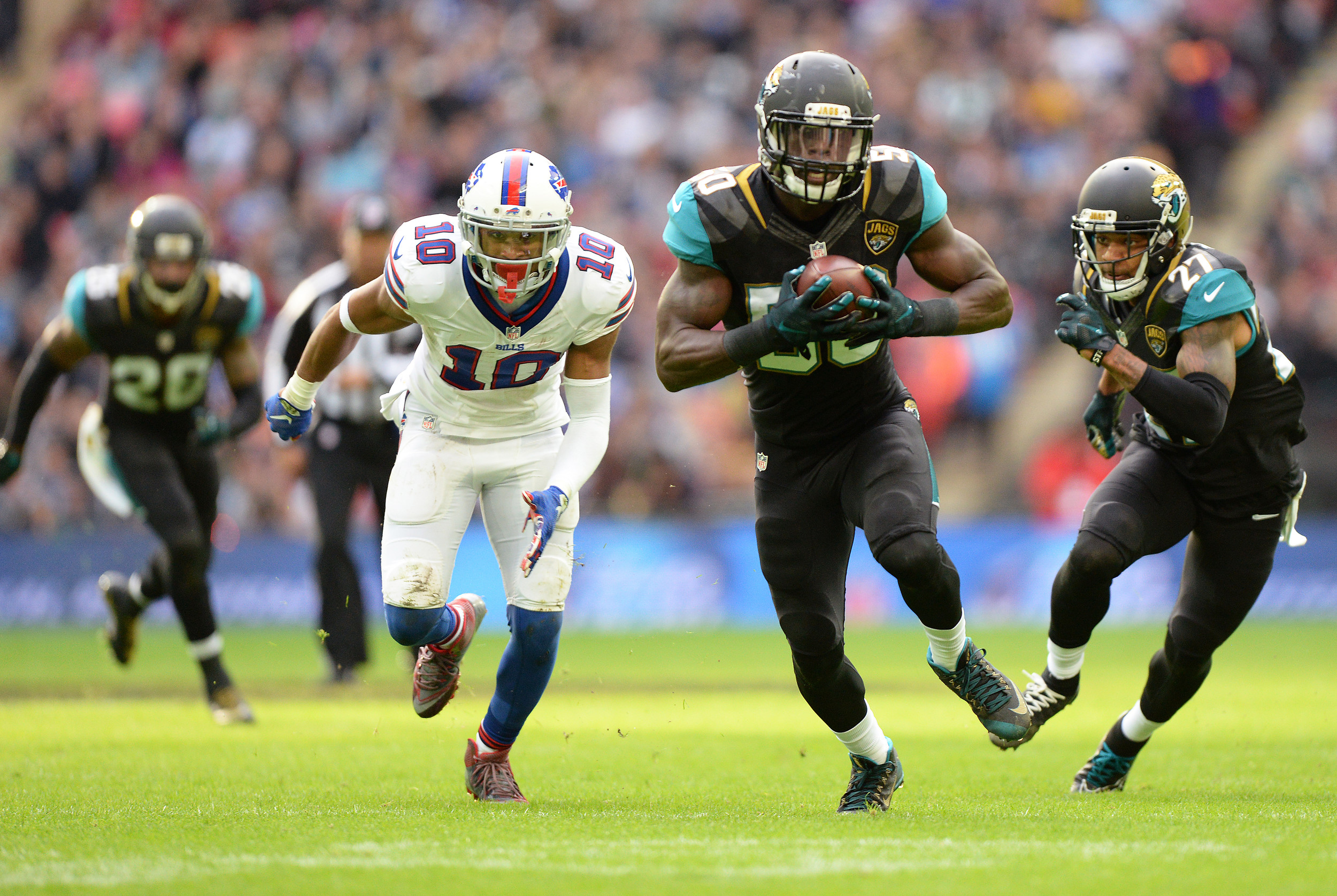 4cc9e9af Hurns' TD catch gives Jags second win of season   The Ponte Vedra ...