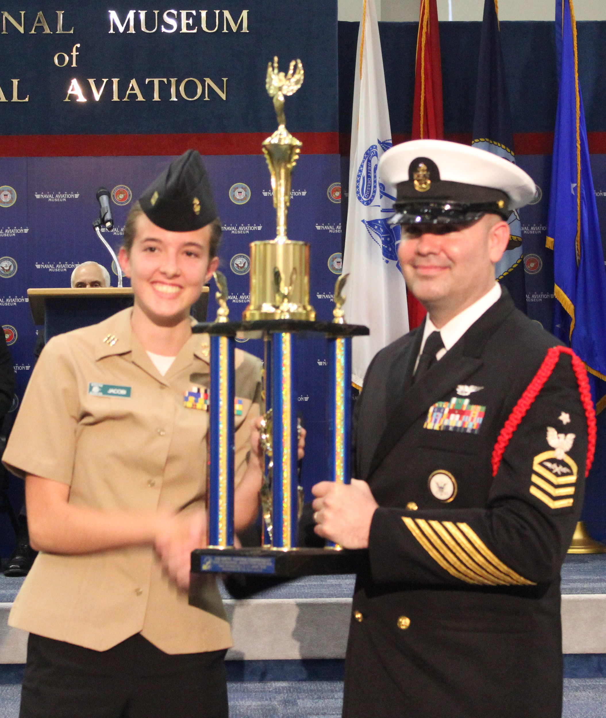 Nease JROTC ranks 6th in nation at Navy National Drill