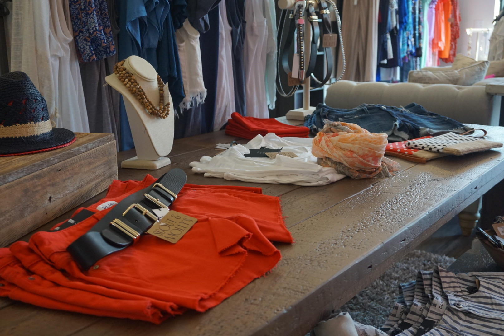 Scout & Molly's Boutique offers a range of clothing, shoes and accessories for women.