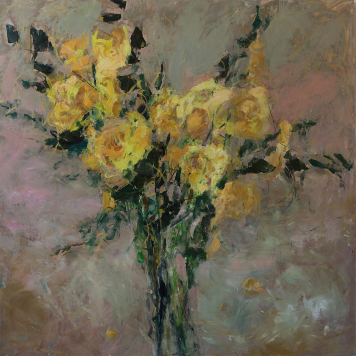 """Yellow Roses"" by Cynthia Packard"
